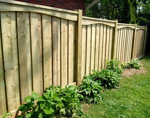 Backyard wood fence Campbell Fence Cambridge