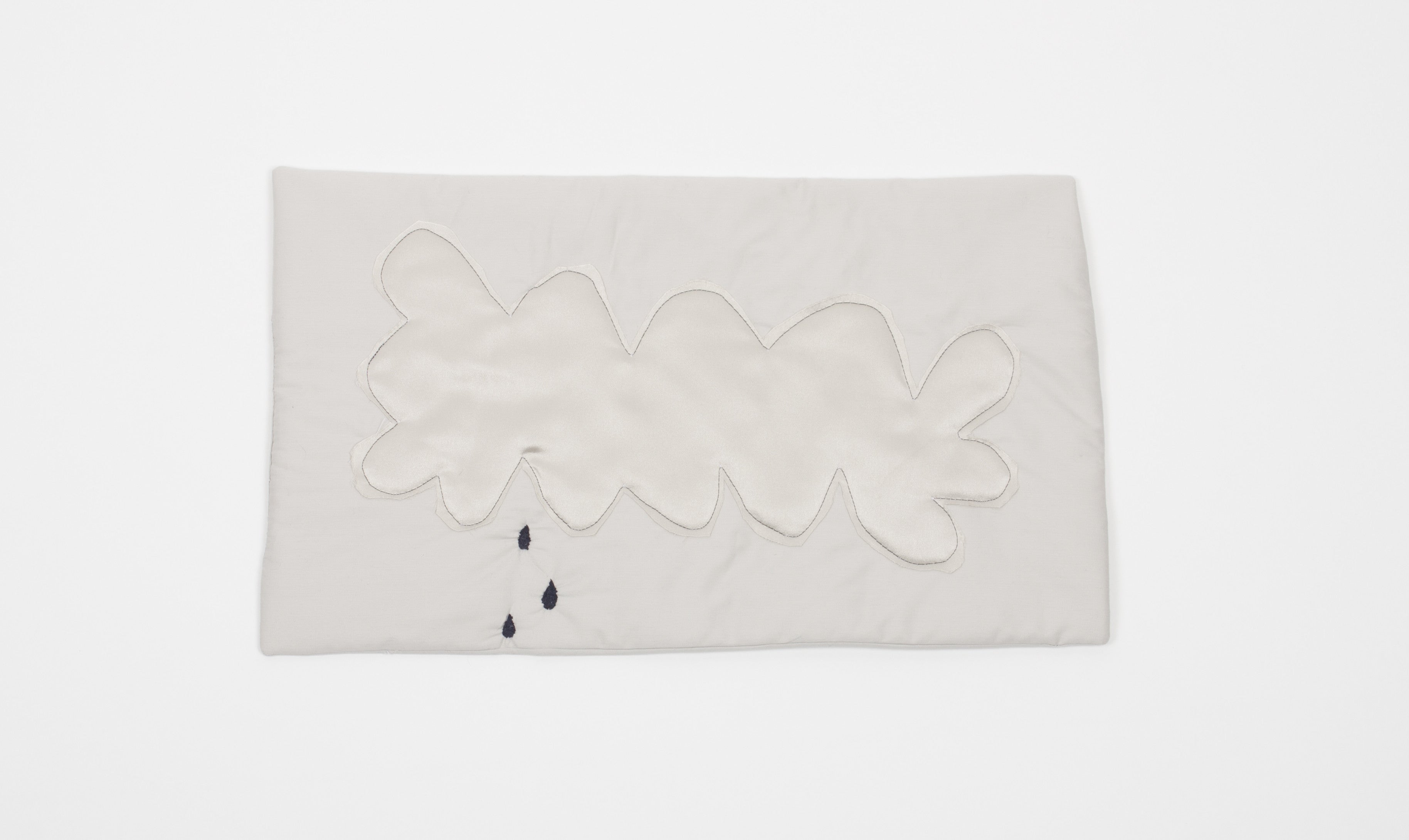rainy clouds - set of 2