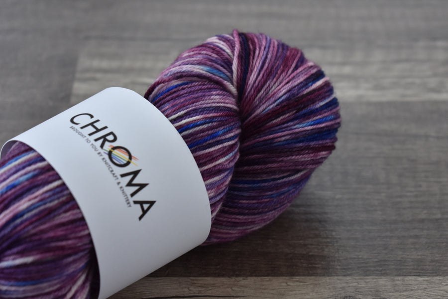 Our newest line of yarn: CHROMA!