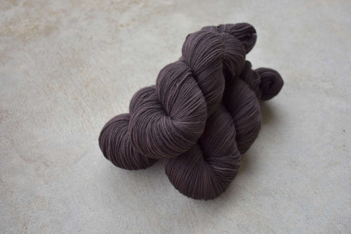 Black Coffee - 4 ply Fingering