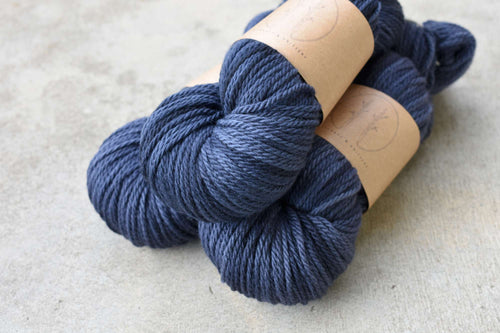 Bilby's Blue - 10 ply Aran/Worsted