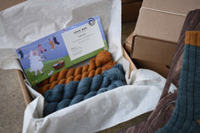 Sock Box #24 - Fingering Corriedale/Mohair/Llama