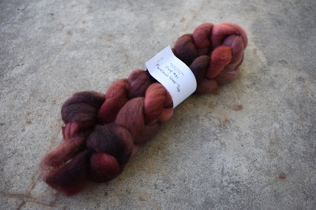 Floof #31 - Falkland Wool Top