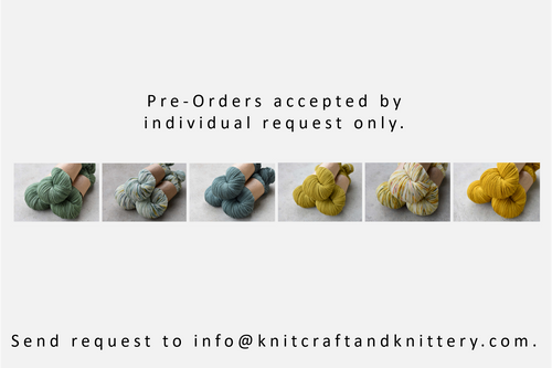Pre-Orders by individual request