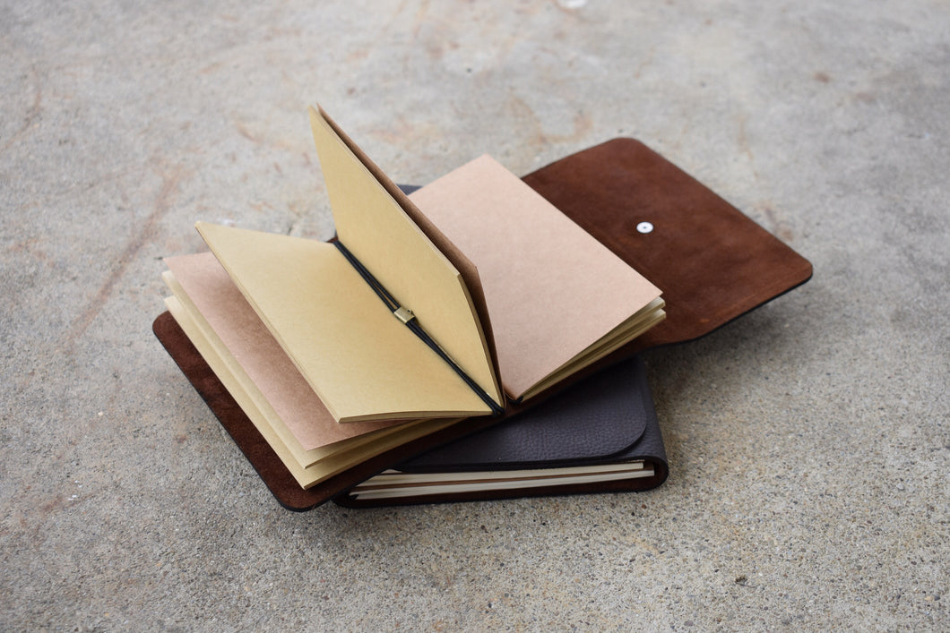 Purl & Hank Mini Leather Journal