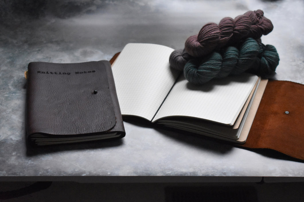 Purl & Hank Leather Journal