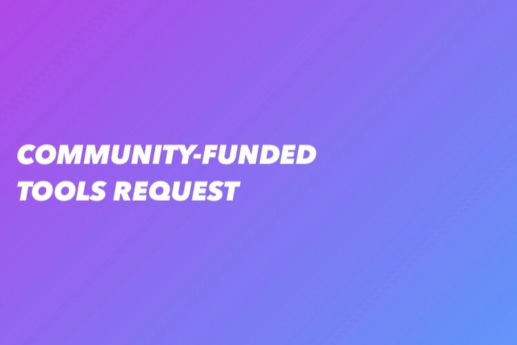 Community-Funded Request - 11/23/2020