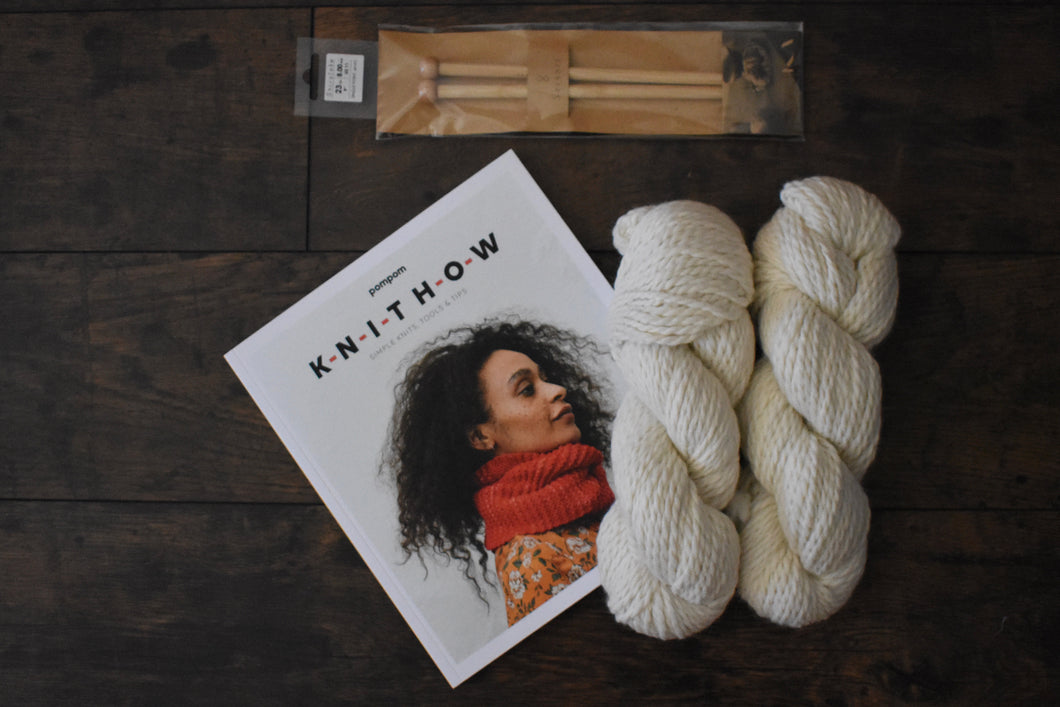 Learn to Knit Gift Set