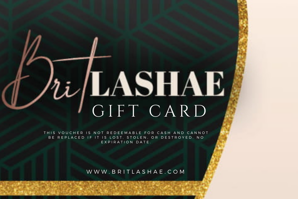 Brit Lashae Gift Card