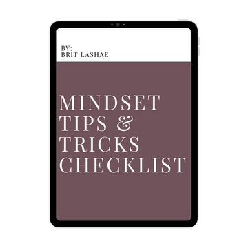 Mindset Tips N Tricks Checklist