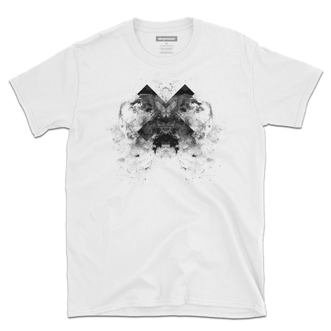 Front of A24 | Men's/Unisex Super Soft Graphic White T-Shirt | nicepressure™