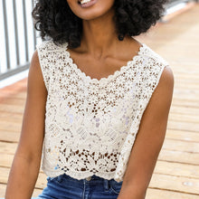 crochet lace crop top