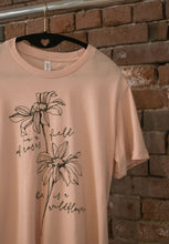 She Is A Wildflower Tee Shirt