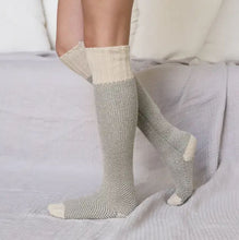 ivory cozy lounge socks