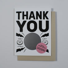 I Owe You Thank You Card