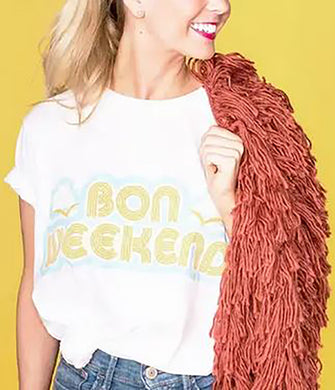 Bon weekend tee shirt
