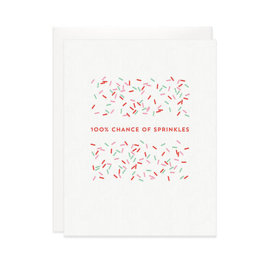 Chance of Sprinkles Card
