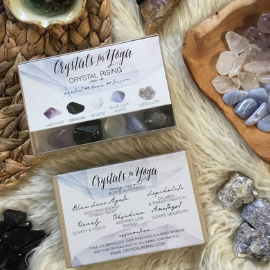 Crystals For Yoga Box Set