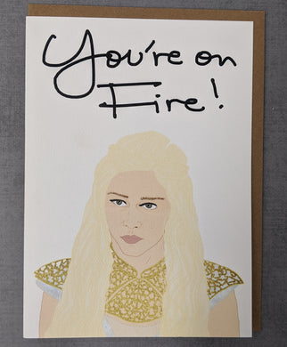 Game of Thrones Daenerys gift card