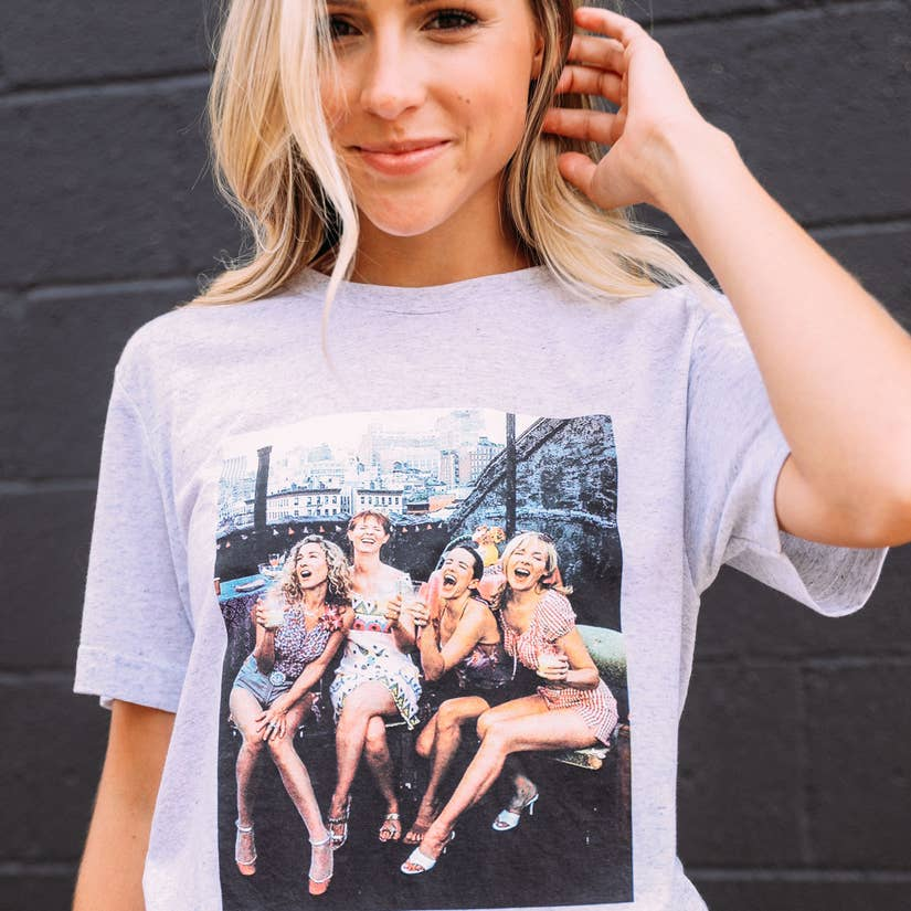 sex and the city iconic tee