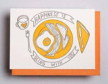 Happiness Is Being With You Card