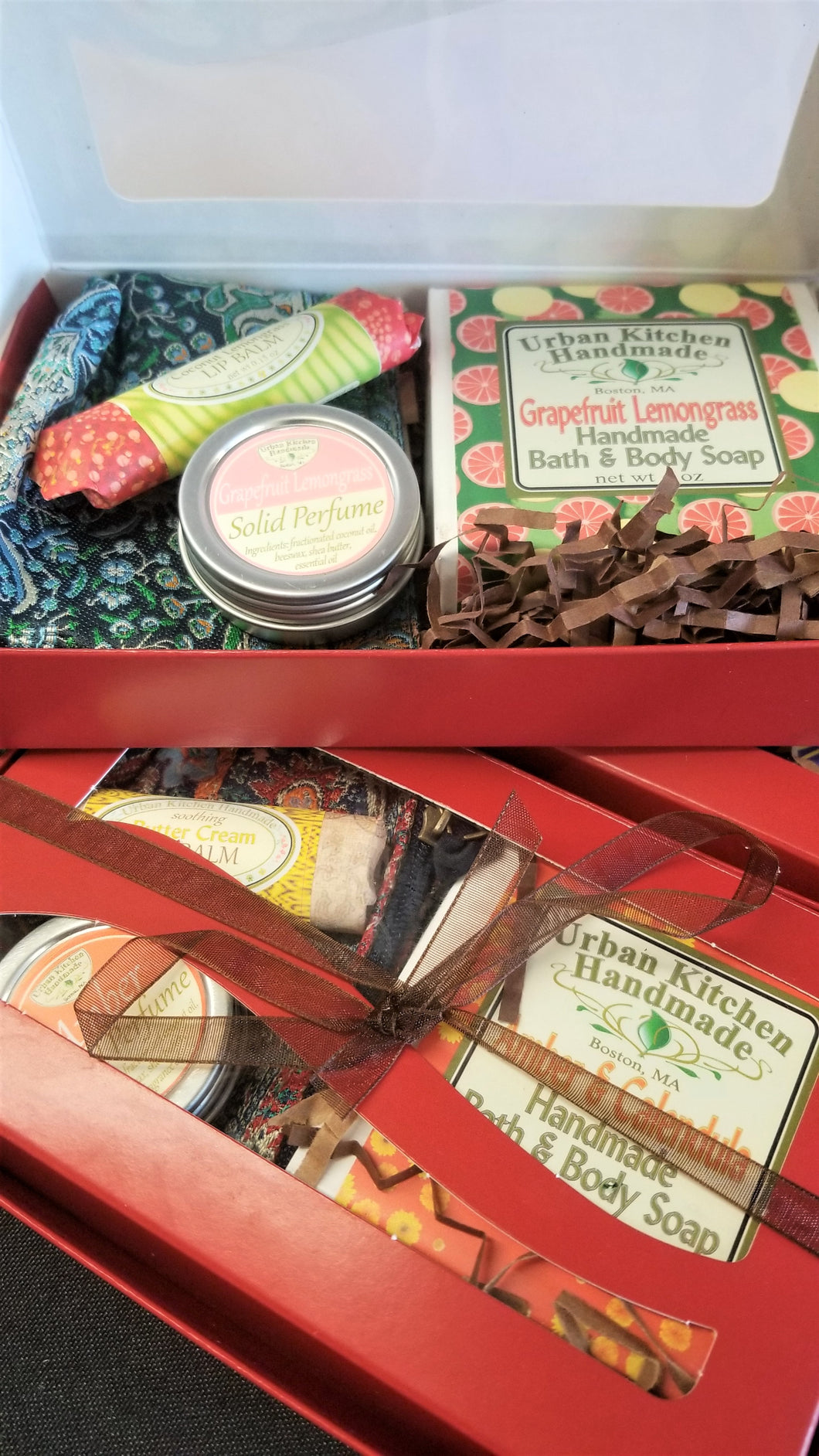 Urban Kitchen Red Gift Boxes