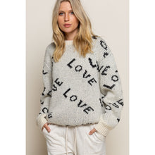 Cream Love Sweater