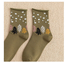 Cloud and Pine Socks (More colors available)