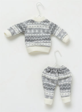 Miniature Winter Sweater + Accessories Ornament Sets