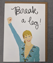Tonya Harding Good Luck Card