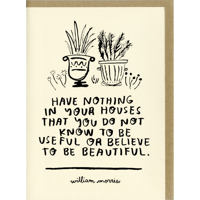 Know To Be Beautiful Card