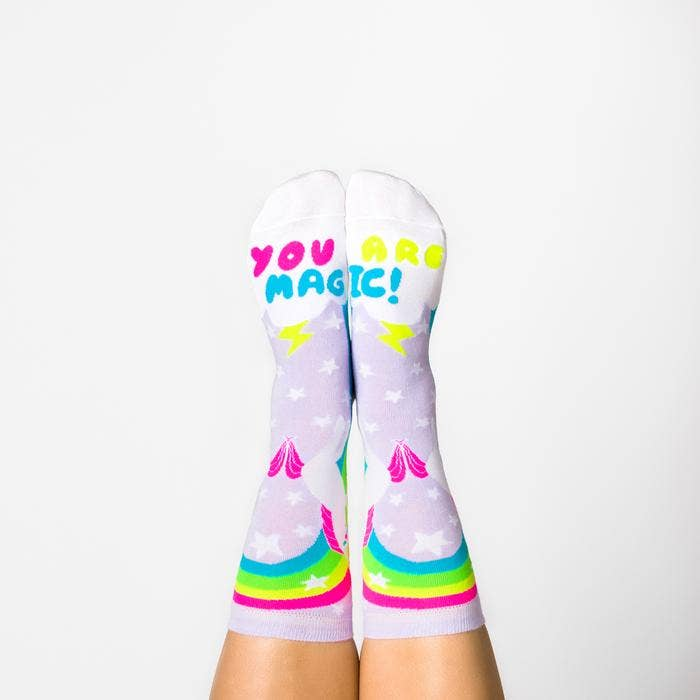 Women's Magical Unicorn Crew Socks