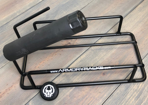 Armory Racks 22 handgun Rack dead air silencer