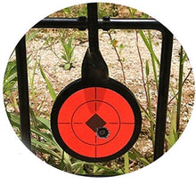 Bullseye Target stickers - Neon Orange Self adhesive in Multiple Sizes - RJK Ventures Guns Shooting Accessories