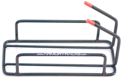 2 Gun Armory Rack for Handguns - RJK Ventures Guns Shooting Accessories