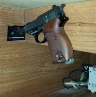 "1 Gun ""Quick Access"" Wall Rack"