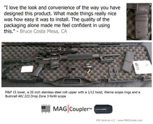 AR10 LR/SR - MAG|Coupler™ - Magazine Coupler - RJK Ventures Guns Shooting Accessories