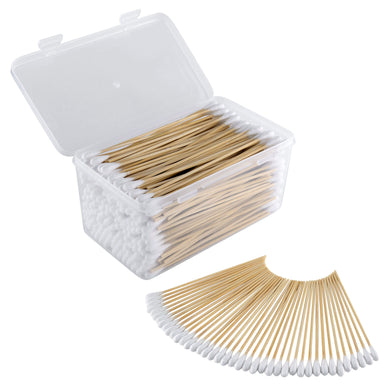 Cotton Gun Cleaning Swabs in plastic Case (qty. 300)