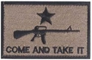 Come and Take It Patch - RJK Ventures Guns Shooting Accessories