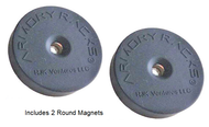 "Armory Racks® ""Magnet Rounds""  Hanger for Magazines, Accessories & Small Guns - RJK Ventures Guns Shooting Accessories"
