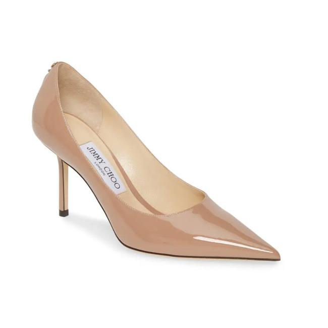 Jimmy Choo Pink Love Patent Pumps Size EU: 38