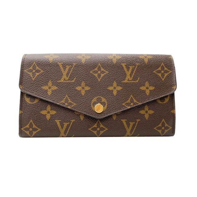 Louis Vuitton Brown Sarah Monogram Wallet