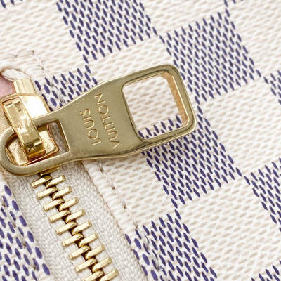 Louis Vuitton Sperone Rose Ballerine White Damier Azur Canvas Backpack