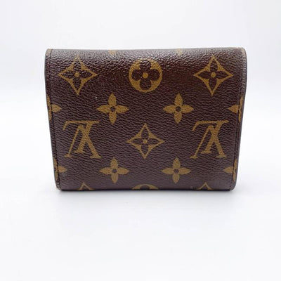 Louis Vuitton Brown Victorine Monogram Rose Ballerine Wallet