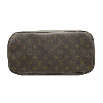 Louis Vuitton Neverfull Bag Mm Brown Monogram Canvas Tote