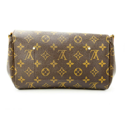 Louis Vuitton Favorite Mm Brown Monogram Canvas Shoulder Bag