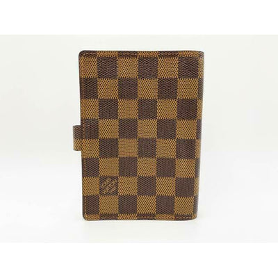 Louis Vuitton Passport Holder / Small Ring Agenda Cover Brown Damier Ébène Canvas Weekend/Travel Bag