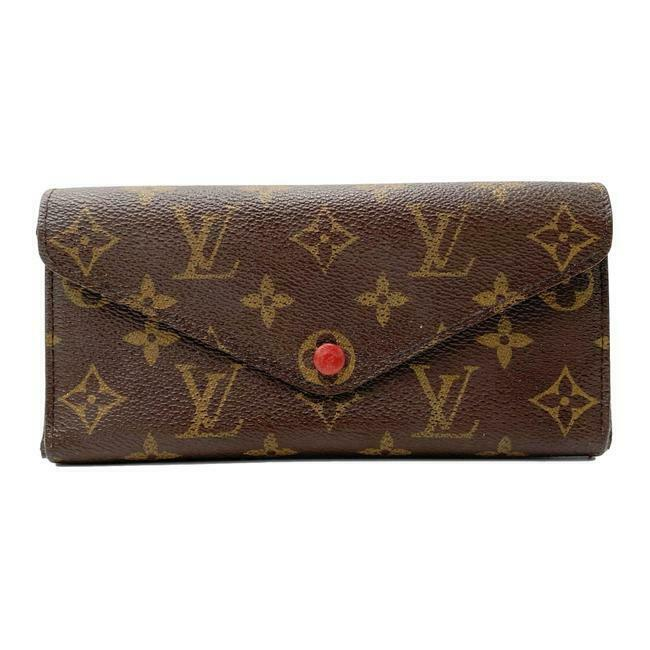 Louis Vuitton Red Josephine Monogram Cherry Wallet