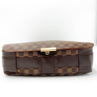 Louis Vuitton Bastille Damier Ebene Brown Canvas Messenger Bag