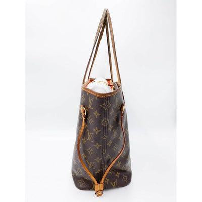 Louis Vuitton Neverfull Neo Abricot Orange Monogram Canvas Tote